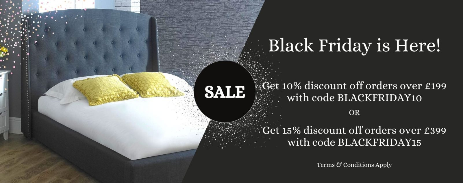 Bishops Beds Black Friday Sale | Discounted Beds and Mattresses